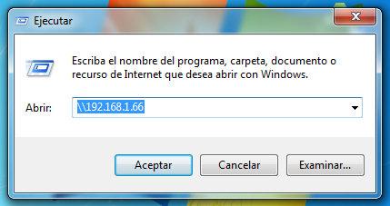 Conectar desde windows 7 a Linux
